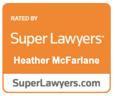 Super Lawyers Heather McFarlane